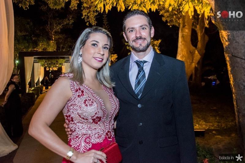 Karine Façanha e Patrick Simão
