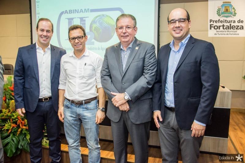 Cesar Ribeiro, Antonio Vidal, Ricardo Cavalcante e  Arthur Ferraz