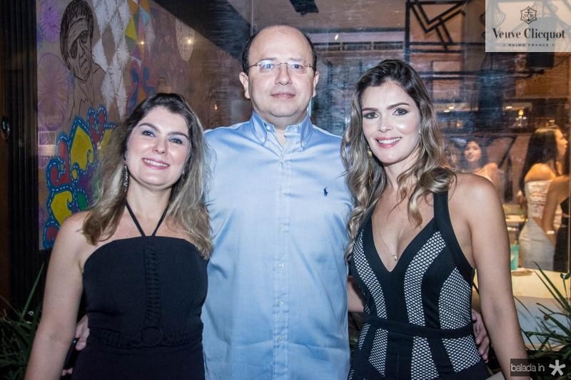 Renata Reis, Dito Reis e Carolina Freund