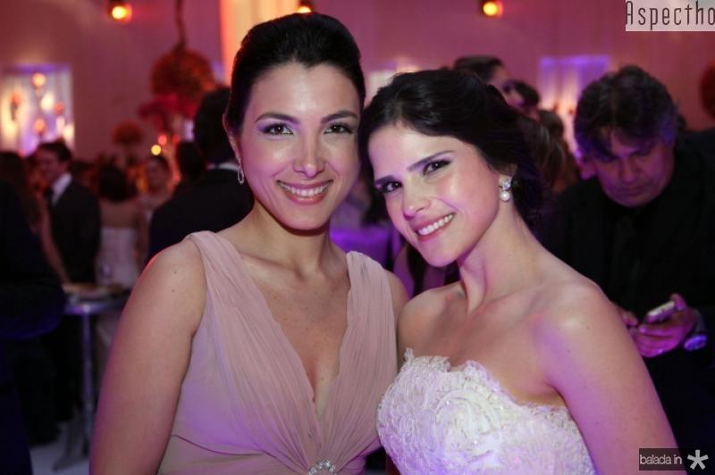 Danielle Linheiro e Marilia Quintao