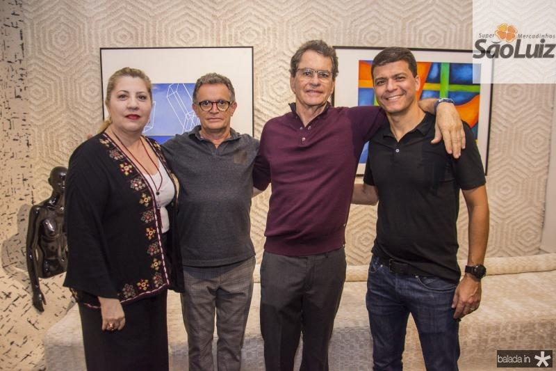 Isabel Macedo, Joao Almeida, Cesar Fiuza e Juliano Viana