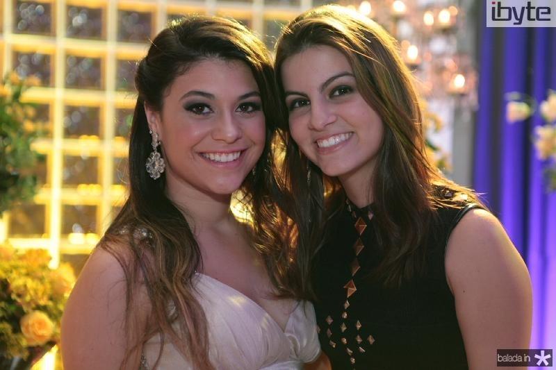 Beatriz Albuquerque e Luiza Machado