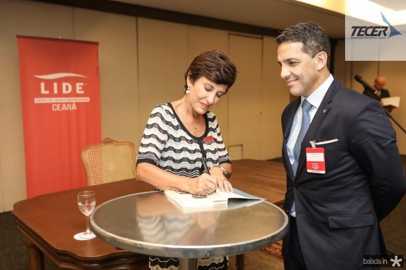 Silvia Bastos e Raul Amaral