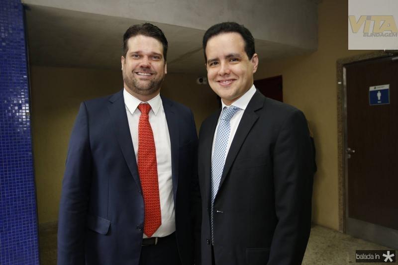 Pedro Bruno e Thiago Fujita