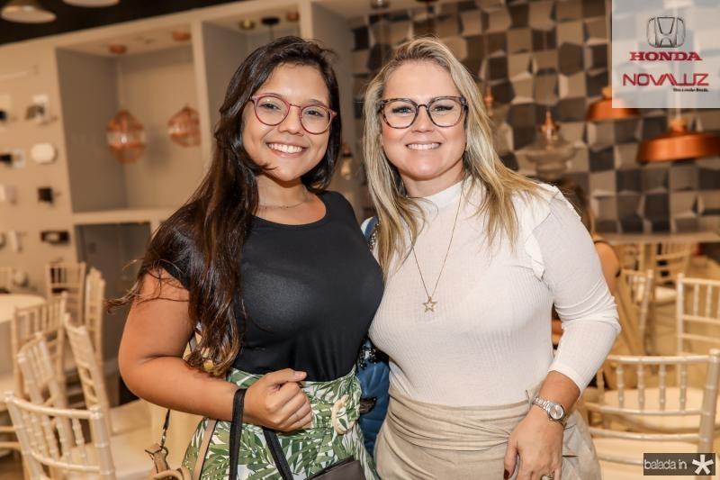 Maria Dias e Nelise Franco