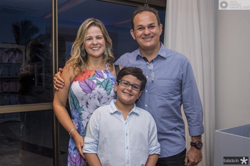 Carol, Iure e Roney Vasconcelos