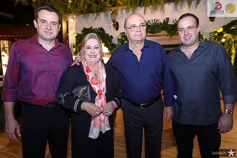 Fernando,Tereza, Fernando e Celio Gurgel
