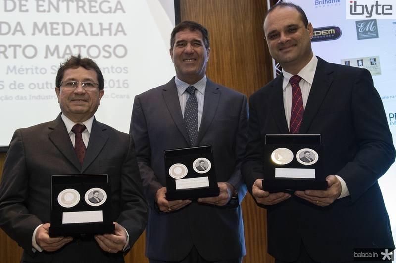 Alcir Porto, Luiz Gastão Bittencourt e Daniel Fiuza