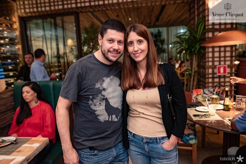 Rodrigo e Evelin Quezedo