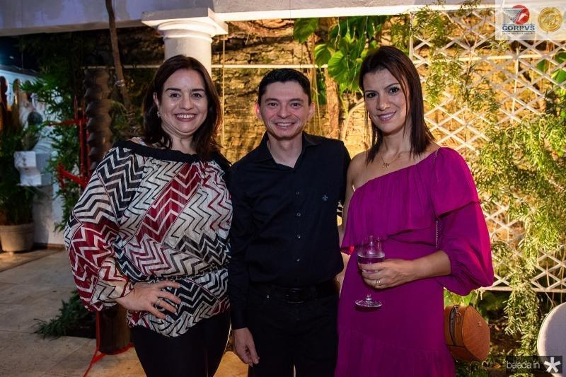 Lia Feire, Marciano Djow e Aline Bazani