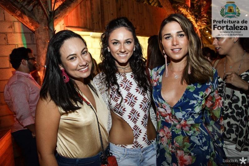 Daniela de Paula, Kika Bichucher e Alix Pinho