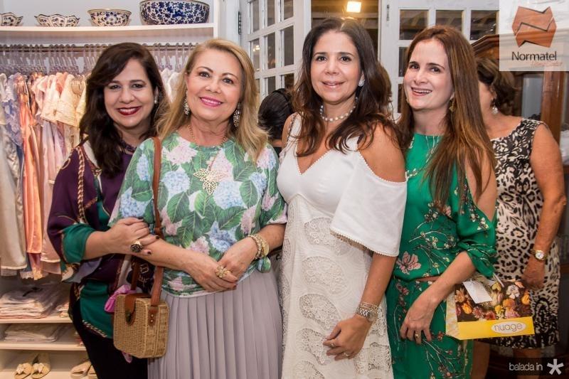 Martinha Assunção, Ines Cals, Maria Lucia Negrao e Adriana Bezerra