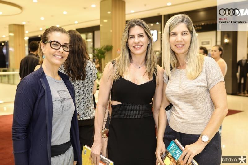Edileda Mendes, Germana Braga e Katia Simpson