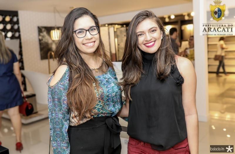 Thaiza Ricarte e Raianny Queiroz