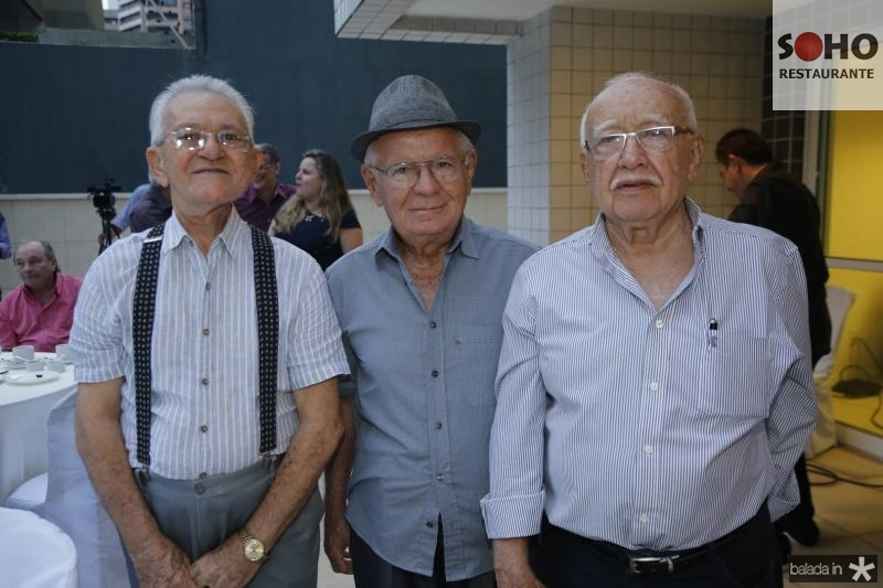 Luiz Aguiar Vale, Paulo Roberto Pinto e Ubiratan Aguiar