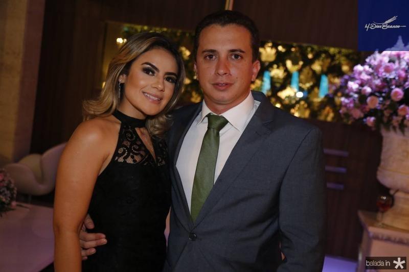 Layane Brito e Pedro Barroso