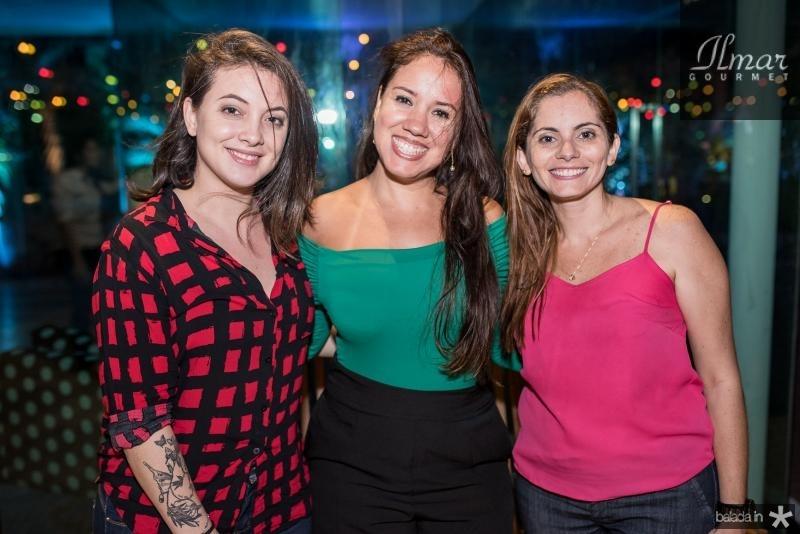 Raysa Nogueira, Aline Deyse e Joelma Leal