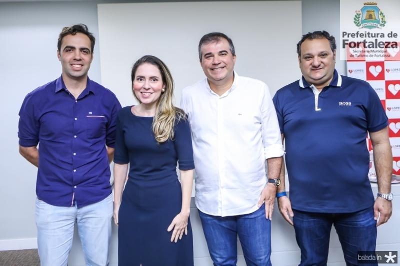 Gama Filho, Agueda Muniz, Ricardo Bezerra e Patriolino Dias