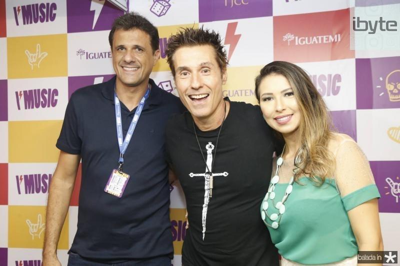 Wellington Oliveira, Dinho Ouro Preto e Katiucia Oliveira