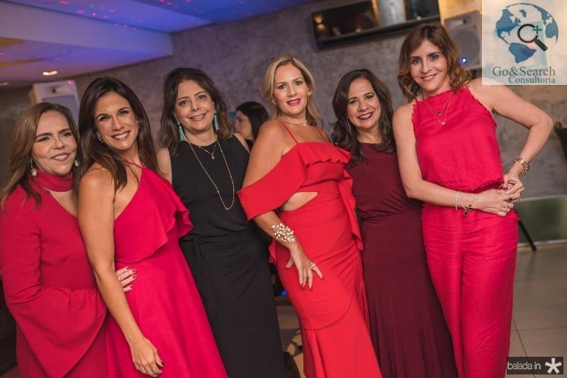 Ailza Ventura, Ana Virginia Martins, Claudia Gradvohl, Marcia Peixoto, Martinha Assuncao e Cristiane Farias