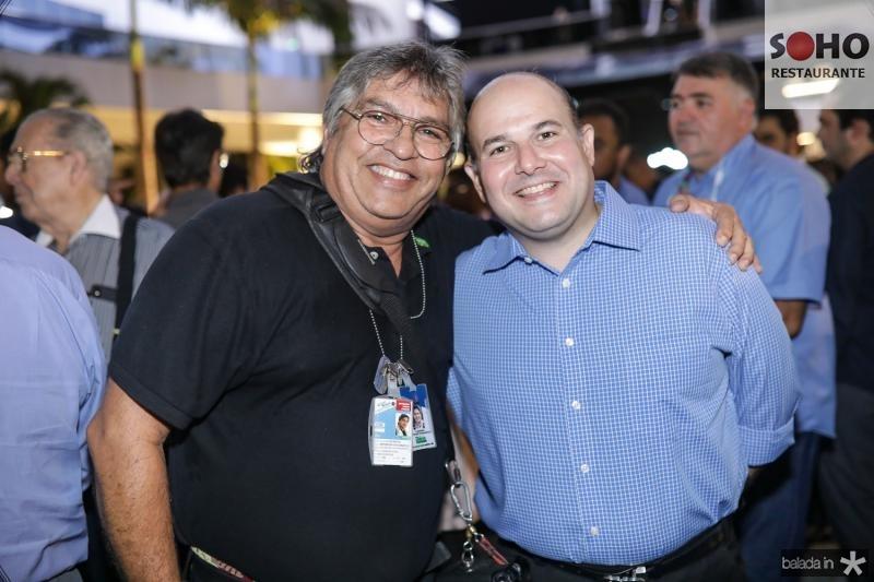 LC Moreira e Roberto Claudio