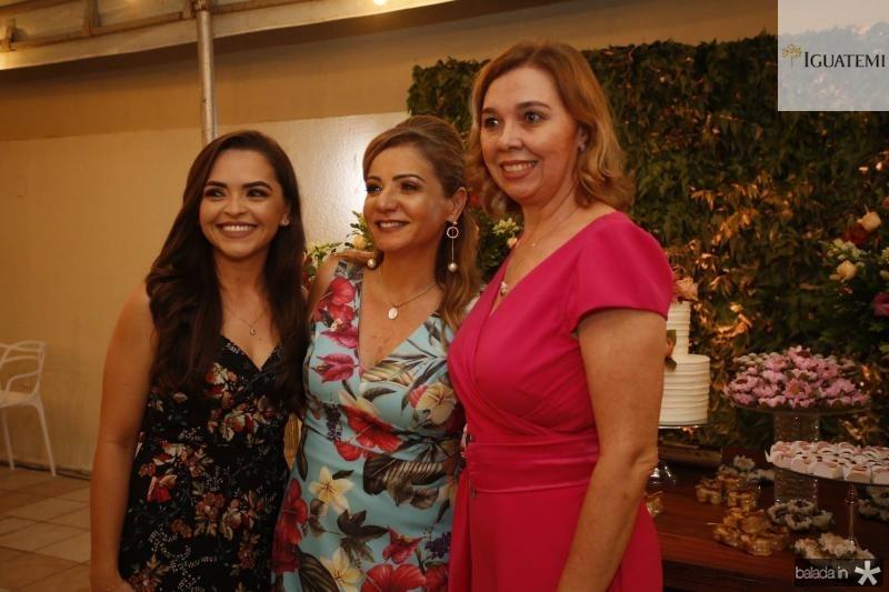 Fernanda Angelim, Simone Cardoso e Conceicao Marques