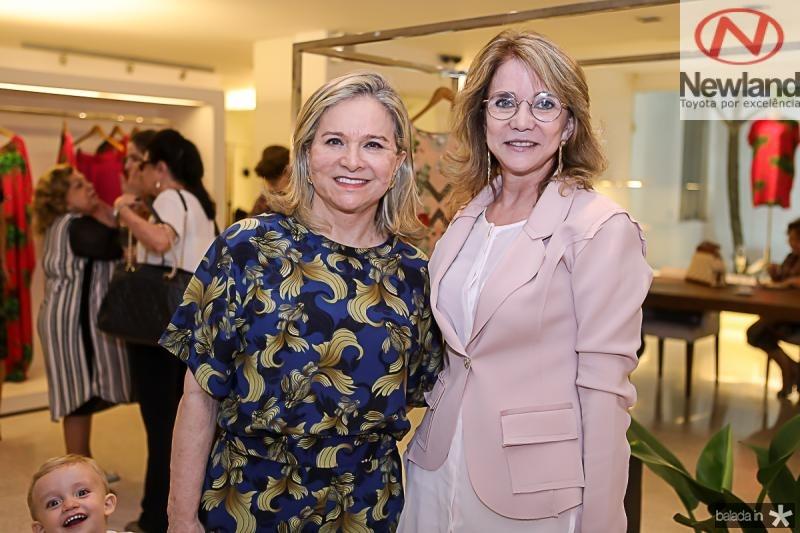 Natercia JereissatI e Sofia Linhares