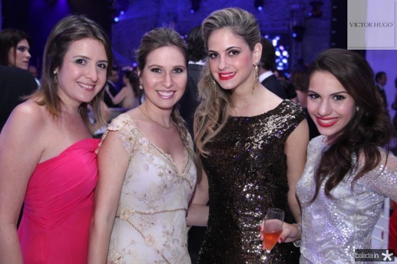 Marina Baquit, Fabia Simoes, Darly Baiao e Nicole Vasconcelos