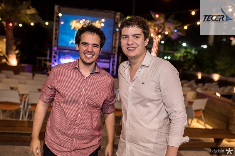 Carlos Brandão e Guilherme Colares