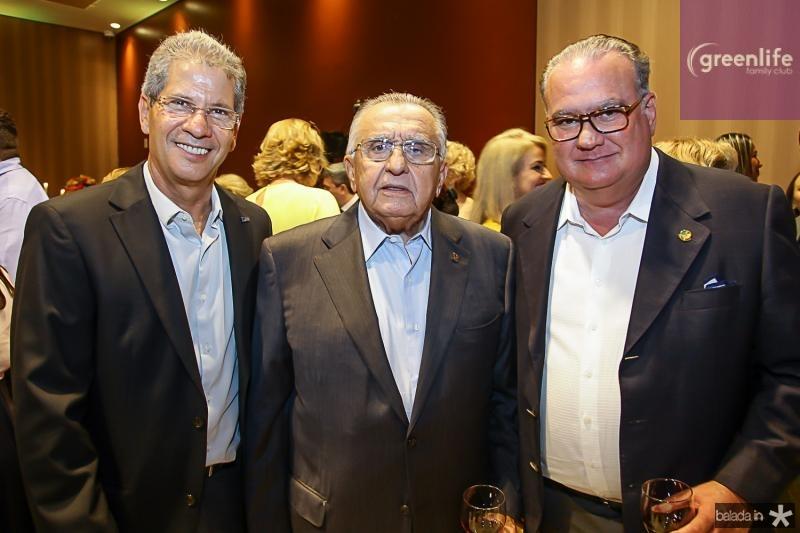 Severino Ramalho Neto, Joao Carlos Paes Mendonça e Chiquinho Feitosa