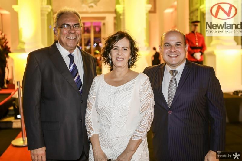 Esdras Guimaraes, Neuma Figueiredo e Roberto Claudio