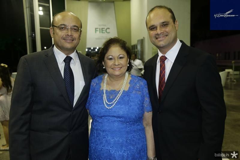 Adriano, Aurideia e Daniel Fiuza