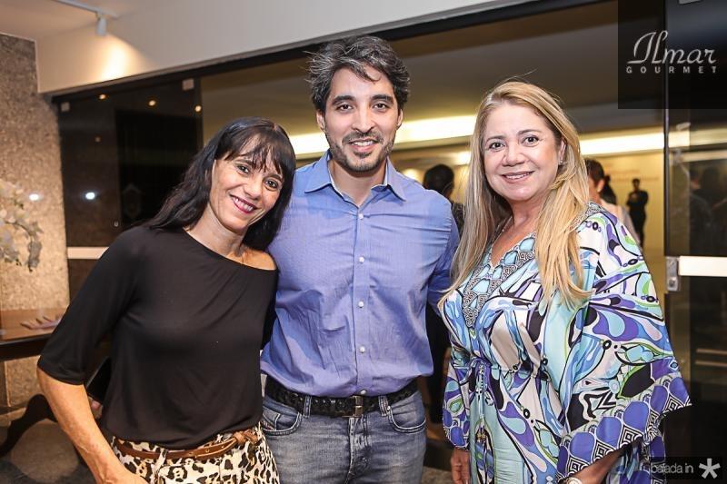 Adriane Ortencio, Rodrigo Porto e Margarete Leal