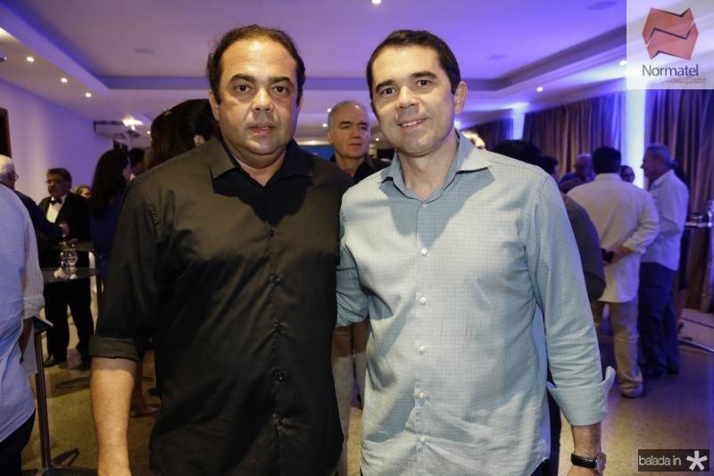 Teco e Ricardo Rocha