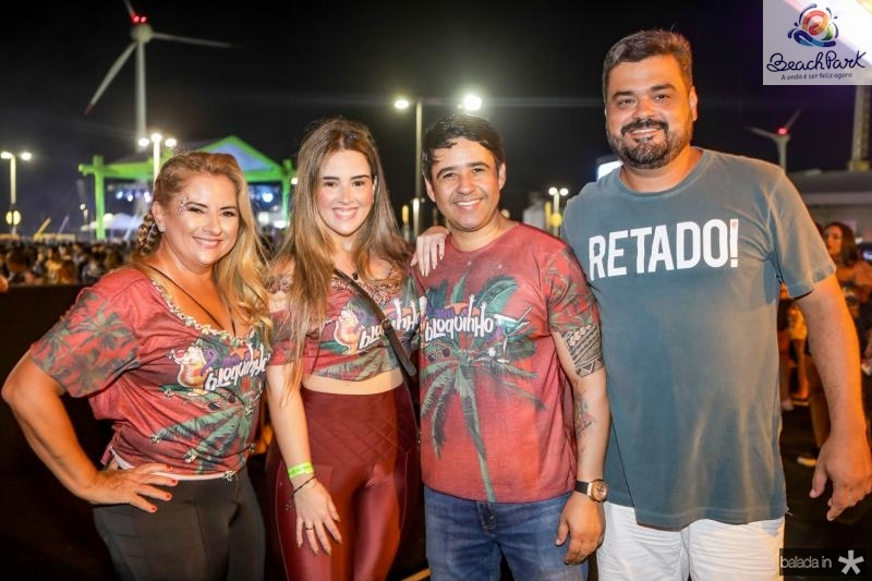 Beth e Roberta Pinto, Jailson Oliveira e Ramon Taboada
