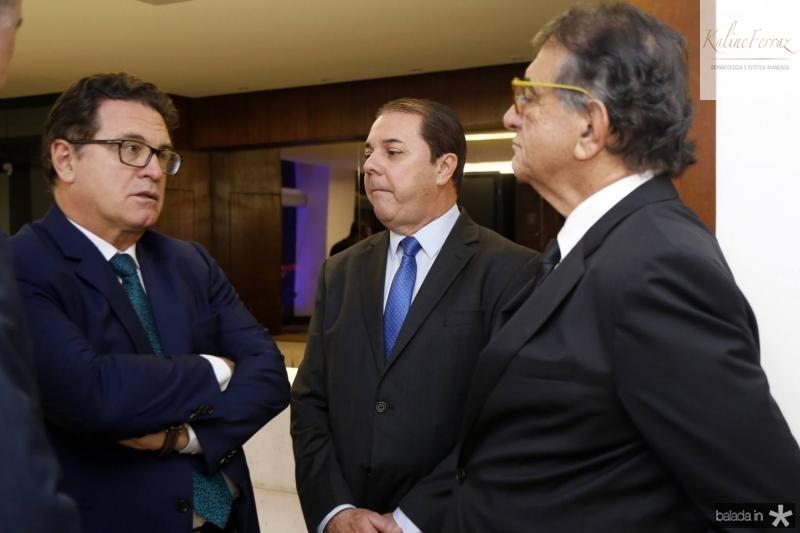 Vinicius Lummertz, Eliseu Barros e Arialdo Pinho 1