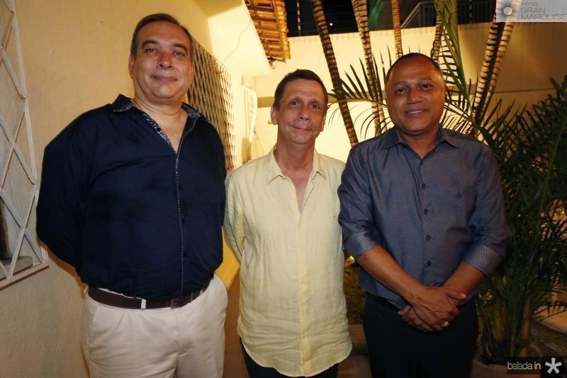 Madson Cardoso, Cunha Matos e Erivaldo Xavier