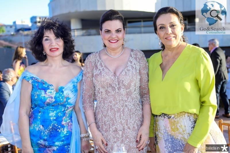 Mariana Silvestre, Luisiane Esteves e Moema Mota