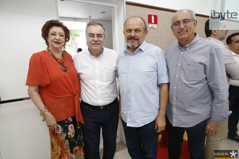 Maze Campos, Assis Cavalcante, Honorio Pinheiro e Bosco Macedo