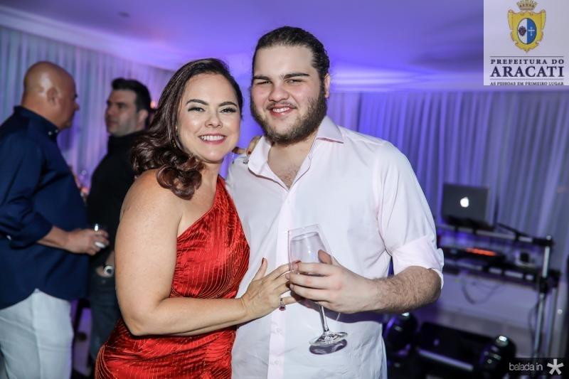 Denise e Leopoldo Cavalcante