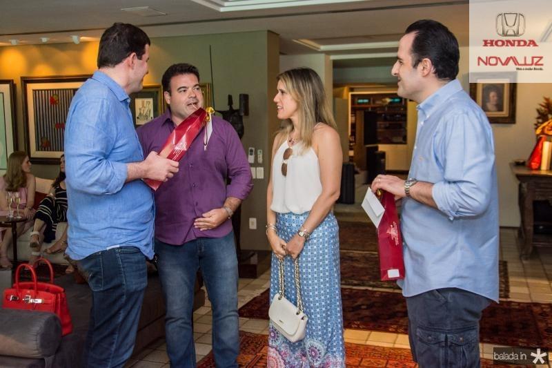Rodrigo Carneiro, Ze Carlos Pinheiro, Ivina Pinheiro e Leonardo Carneiro
