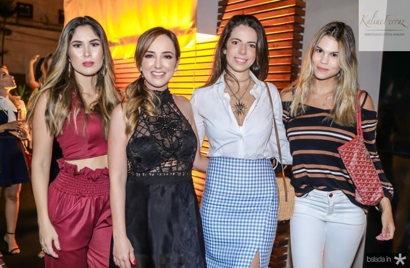 Manoela de Castro, Kaline Ferraz, Lina Frank e Mariana Pinto