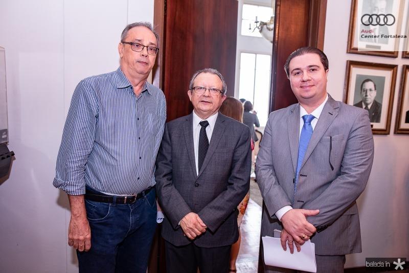 Jose Dias, Jose Damaceno e Tom Parente