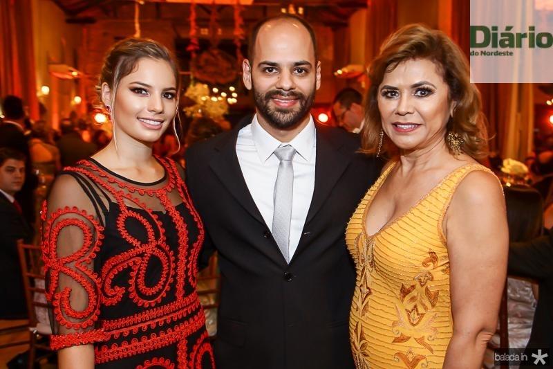 Sabrina Max, Paulo e Raimundinha Ximenes