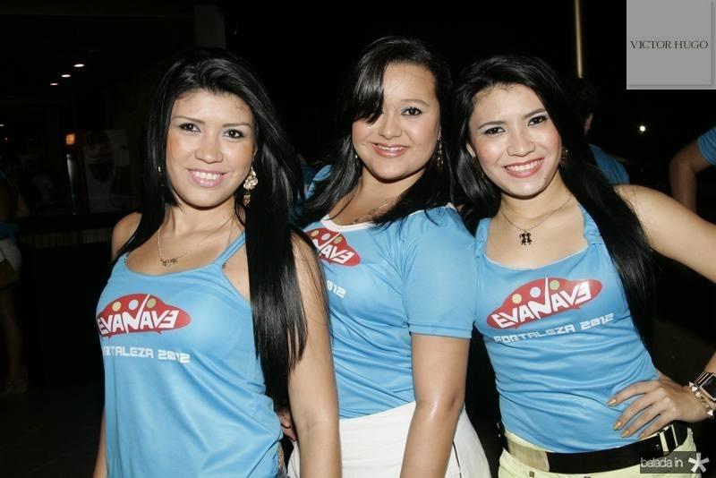 Kelvia Cardinale, Anjessica Souza e Nadila Matos