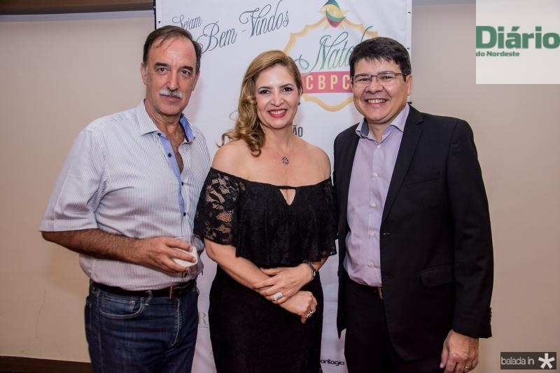 Armando Abreu, Enid Camara e Silvio Ribeiro