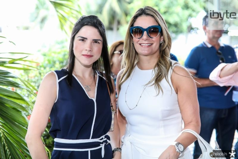 Marilia Vasconcelos e Tatiana Luna