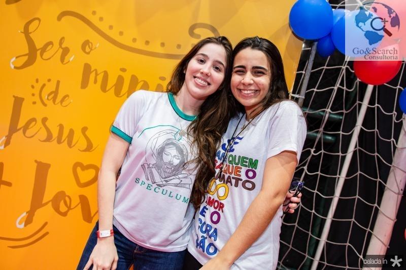 Mariana Thomaz e Gabriele Leite