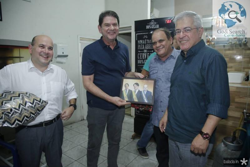 Roberto Claudio, Cid Gomes, Roberto Moreira e PC Noroes 2