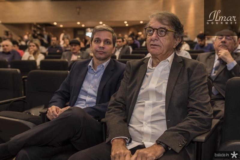 Romulo Soares e Arialdo Pinho